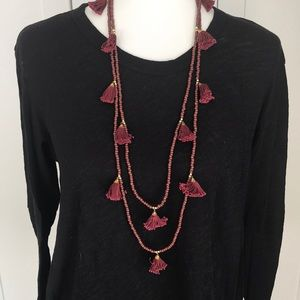 Anthropologie beaned necklace